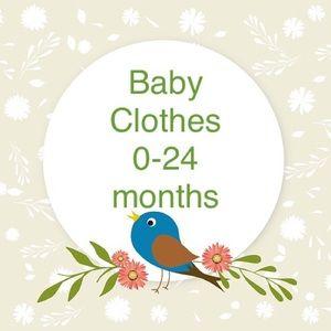 Baby Clothes 0-24 mo